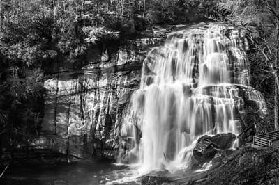 Photograph - Rainbow Falls Monochrome by Randy Scherkenbach
