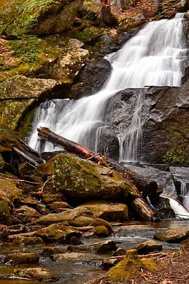 Photograph - Rainbow Falls - Spring 2014 by Naturally NH