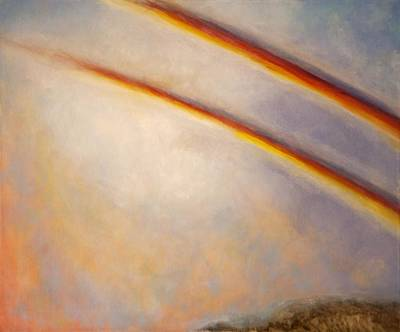 Painting - Rainbow For Grace by Joe Leahy
