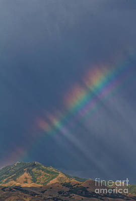 Impressionist Landscapes - Rainbow From the Mountain by Mitch Johanson