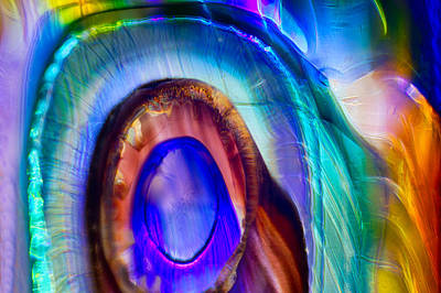 Photograph - Rainbow Goddess by Omaste Witkowski