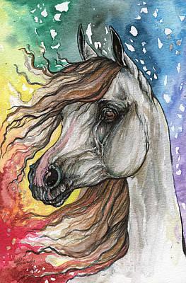Rainbow Horse 5  Original