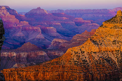 Photograph - Rainbow Hues Of The Grand Canyon by Deborah Smolinske