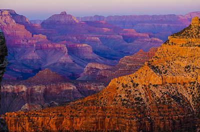 Photograph - Rainbow Hues Of The Grand Canyon by Deborah Smolinske
