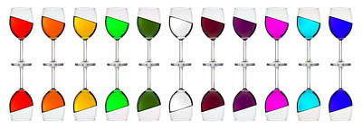 Photograph - Rainbow In A Glass by Andrew Munro