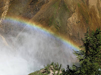 Photograph - Rainbow In Canyon by Laurel Powell