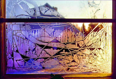 Photograph - Rainbow In Frost by Rod Jones