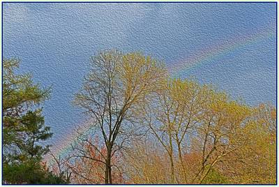 Discount Codes Wall Art - Photograph - Rainbow In Spring by Sonali Gangane
