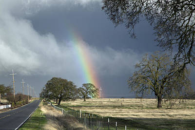 Photograph - Rainbow In Stockton by Carol M Highsmith