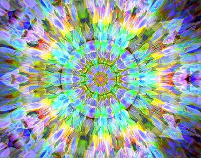 Photograph - Rainbow Kaleidoscope 2 by Sheri McLeroy