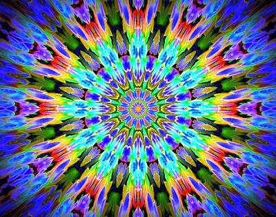 Photograph - Rainbow Kaleidoscope by Sheri McLeroy