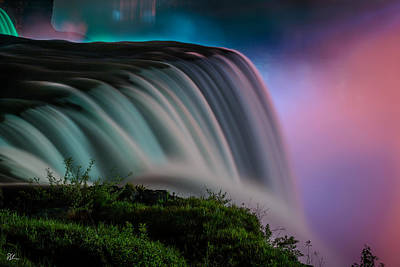 Photograph - Rainbow Light Fall by Pat Scanlon