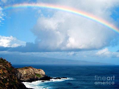 Rainbow Maui Hawaii Original by Jerome Stumphauzer