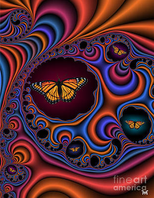 Digital Art - Dance Of Joy by Maria Watt