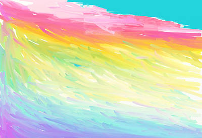 Painting - Rainbow Mountain by Naomi Jacobs
