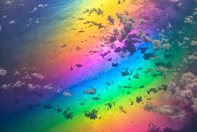Photograph - Rainbow Ocean by Eti Reid