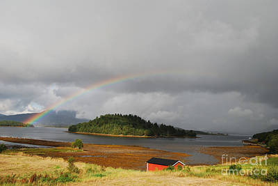 Photograph - Rainbow Of The North by Ankya Klay