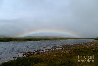 Photograph - Rainbow Over Funnel Creek by Dan Friend