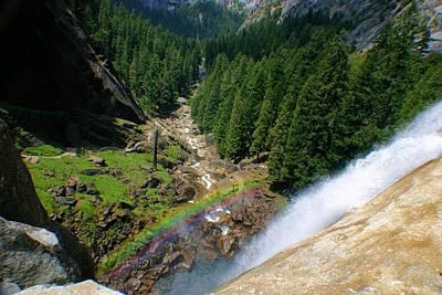 Photograph - Rainbow Over Nevada Falls by Jane Girardot