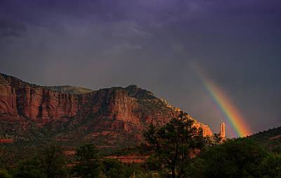 Rainbow Over Sedona  Original