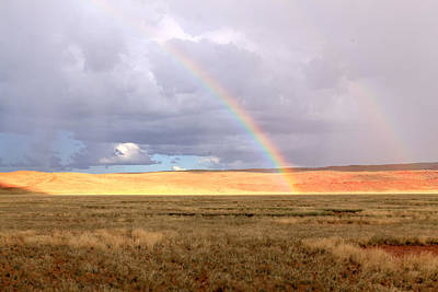 Photograph - Rainbow Over Sossulvei by Gregory Daley  PPSA