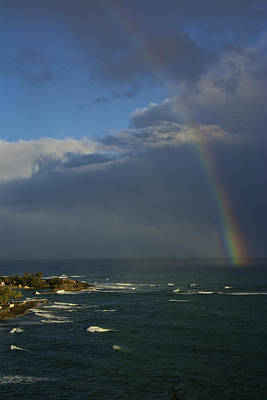 Photograph - Rainbow Over The Atlantic by Kathi Isserman