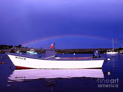 04003 Photograph - Rainbow Over The Cribstone by Donnie Freeman