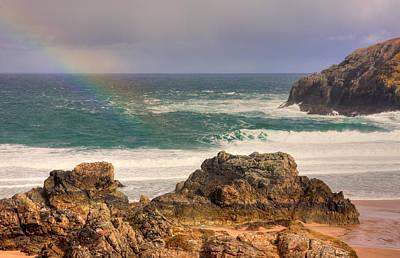 Photograph - Rainbow Over The Sea by Susan Leonard