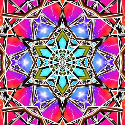 Digital Art - Rainbow Paradigm by Derek Gedney