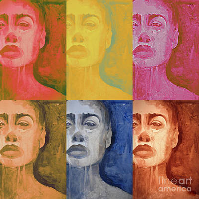 Painting - Rainbow People by Diane montana Jansson