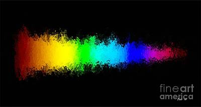 Digital Art - Rainbow Redux by Dale   Ford