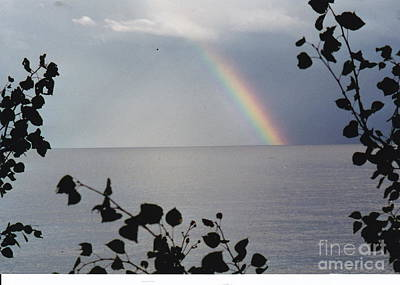 Photograph - Rainbow Remembrance by Barbara Plattenburg
