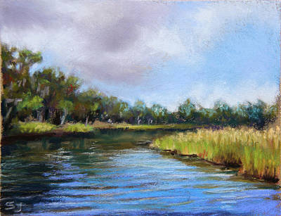 Pastel - Rainbow River by Susan Jenkins