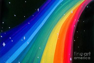 Painting - Rainbow Road by Marisela Mungia