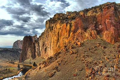 Photograph - Rainbow Rocks And A River by Adam Jewell