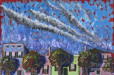 Rainbow Row Painting - Rainbow Row by Preston Sandlin