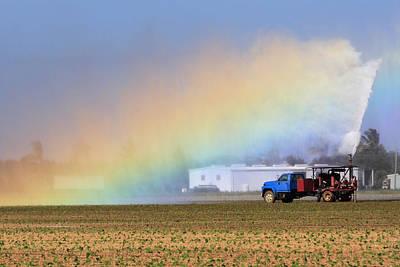 Rainbow Art Print by Rudy Umans
