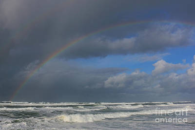 Photograph - Rainbow Sea by Jeanette French
