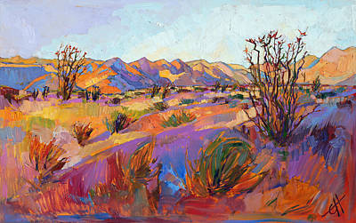 Painting - Rainbow Sherbet by Erin Hanson
