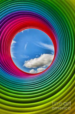 Photograph - Rainbow Sky by Steve Purnell