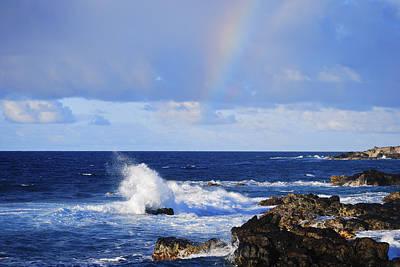 Photograph - Rainbow Snippet by Christi Kraft