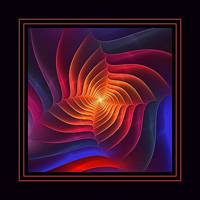 Digital Art - Rainbow Squarus by Doug Morgan