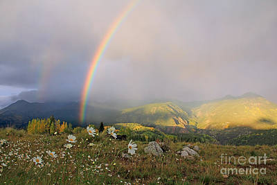 Mountians Photograph - Rainbow Surprise Part 2 by Patrick Dillon