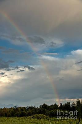 Photograph - Rainbow Through The Clouds by Cheryl Baxter