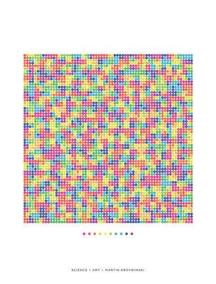 Fractal Geometry Digital Art - Rainbow Transition On Hilbert Curve Of Order 6 by Martin Krzywinski