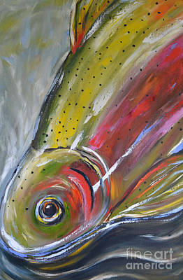 Rainbow Trout Original by Cher Devereaux