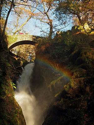 Aira Force Wall Art - Photograph - Rainbow Valley by Susan Tinsley