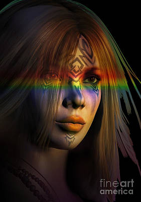Rainbow Warrior ... Two  Art Print by Shadowlea Is