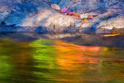 Photograph - Rainbow Water by Joan Herwig