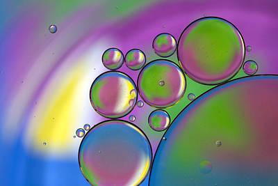 Rainbows Lollipops  Art Print by Rebecca Cozart